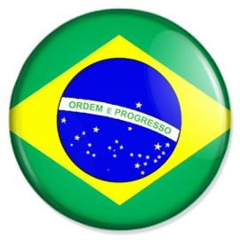 Button-Flagge-Brasilien
